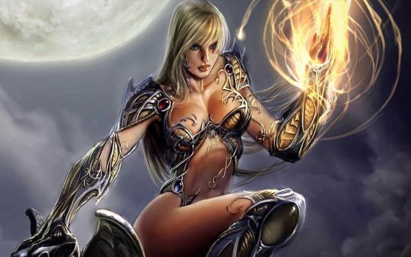 Warlock Maiden, Sorceress 2