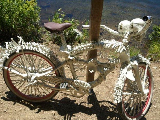 велосипед из костей