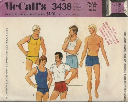 Male Pattern Boldness So You Want To Sew Mens Underwear