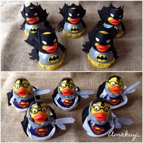 Amakuyi-WOP-rubberduck-superheroes-súperman-Batman