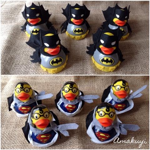 Amakuyi-WOP-rubberduck-superheroes-súperman-Batman