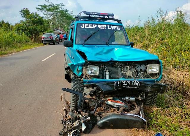Kecelakaan di Jalan Lintas Palangka Raya-Bahaur Tewaskan Pengendara Motor