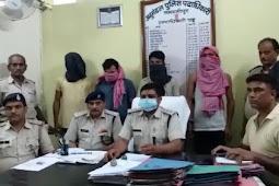 समस्तीपुर जदयू जिला अध्यक्ष अश्वमेघ देवी के भाई की हत्या में शामिल पांच और अपराधी गिरफ्तार