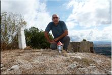 San Bitor mendiaren gailurra 767 m. -- 2015eko abuztuaren 1ea
