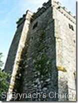 St Brynach's Church tower Nevern geograph org uk