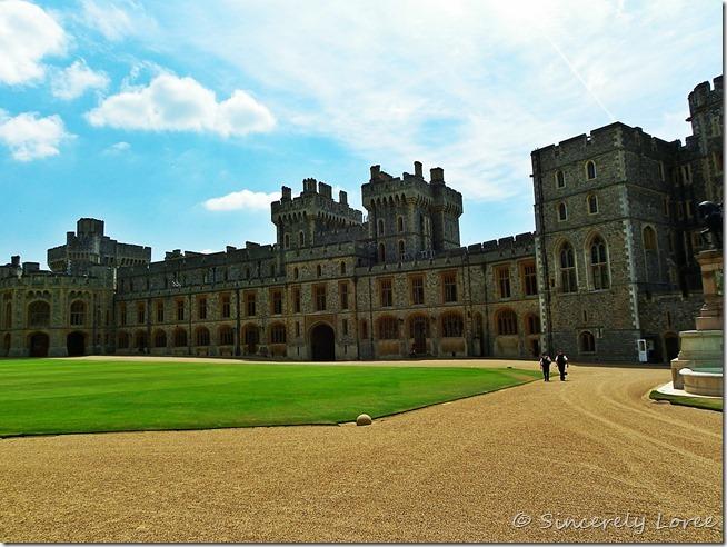 Windsor Castle: Upper Ward