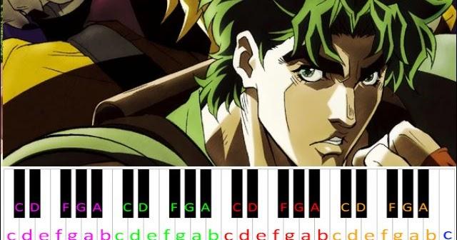 Sono Chi No Sadame Jojo S Bizarre Adventure Opening 1 Piano