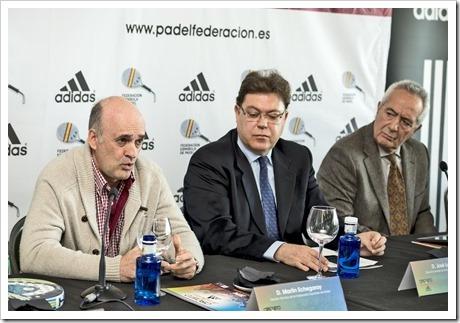 Martín Echegaray deja su cargo como director técnico en la Federación Española de Pádel.