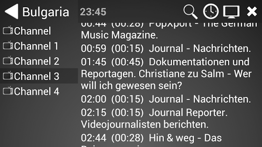ProgTV Android 2.50.8 screenshots 3