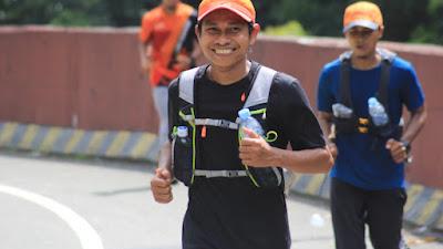 Luar Biasa! Peringati HUT Kemerdekaan RI Ke 76, LHA Runners Lakukan Ultramarathon 76Km