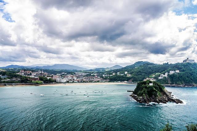 Bahía de La Concha San Sebastián