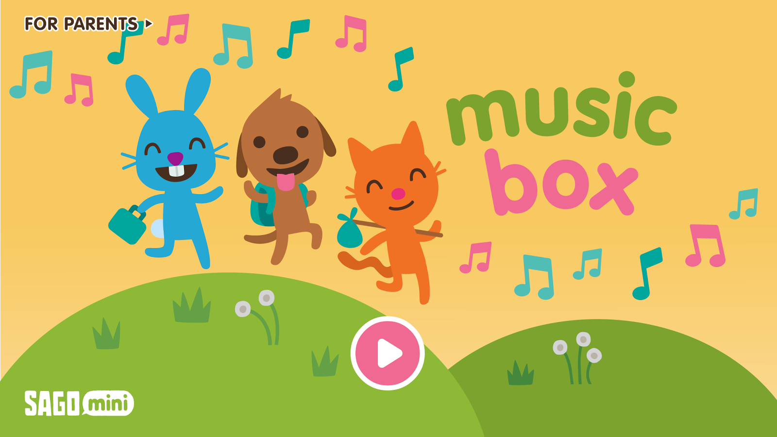 Sago Mini Music Box- screenshot