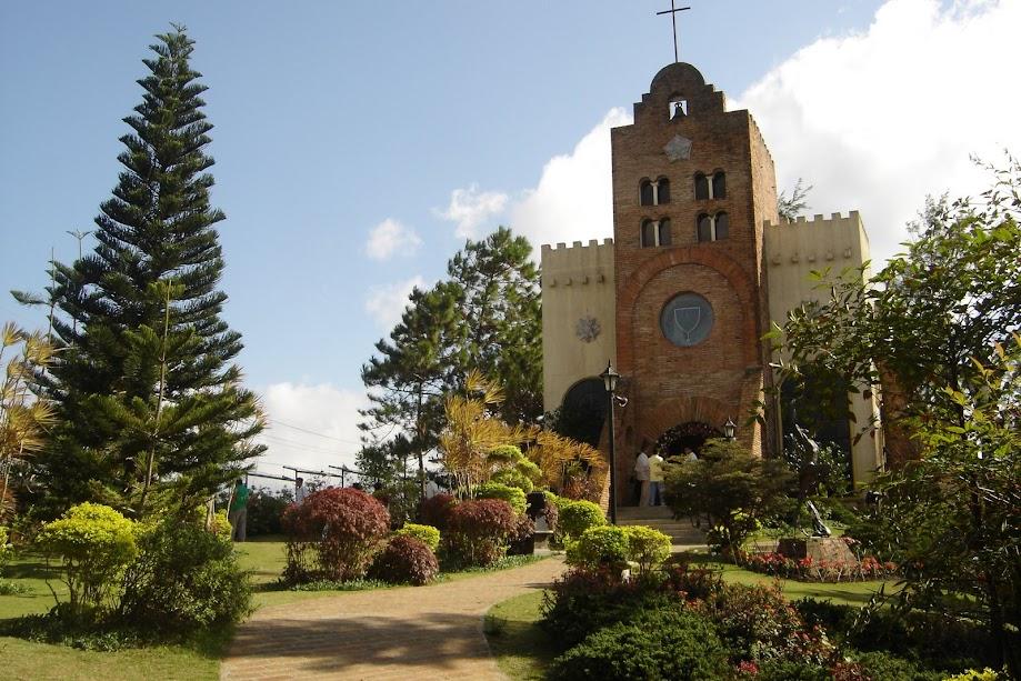 Church of Transfiguration in Caleruega Philippines