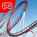 VR Thrills: Roller Coaster 360 (Cardboard Game) icon