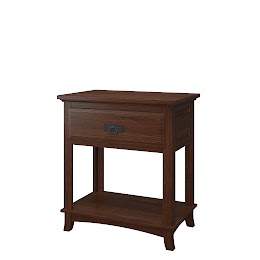 Glasgow Nightstand with Shelf
