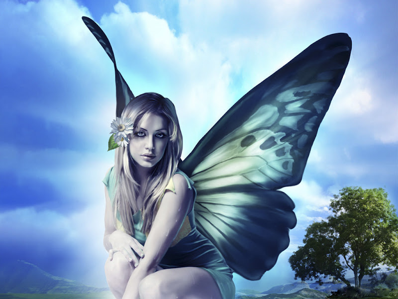 Beauty Of Enigmatic Faerie, Fairies 4