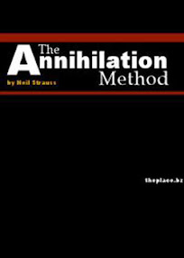 Cover of Neil Strauss's Book The Annihilation Method Online Personals Your Endless Supply Of Beautiful Women
