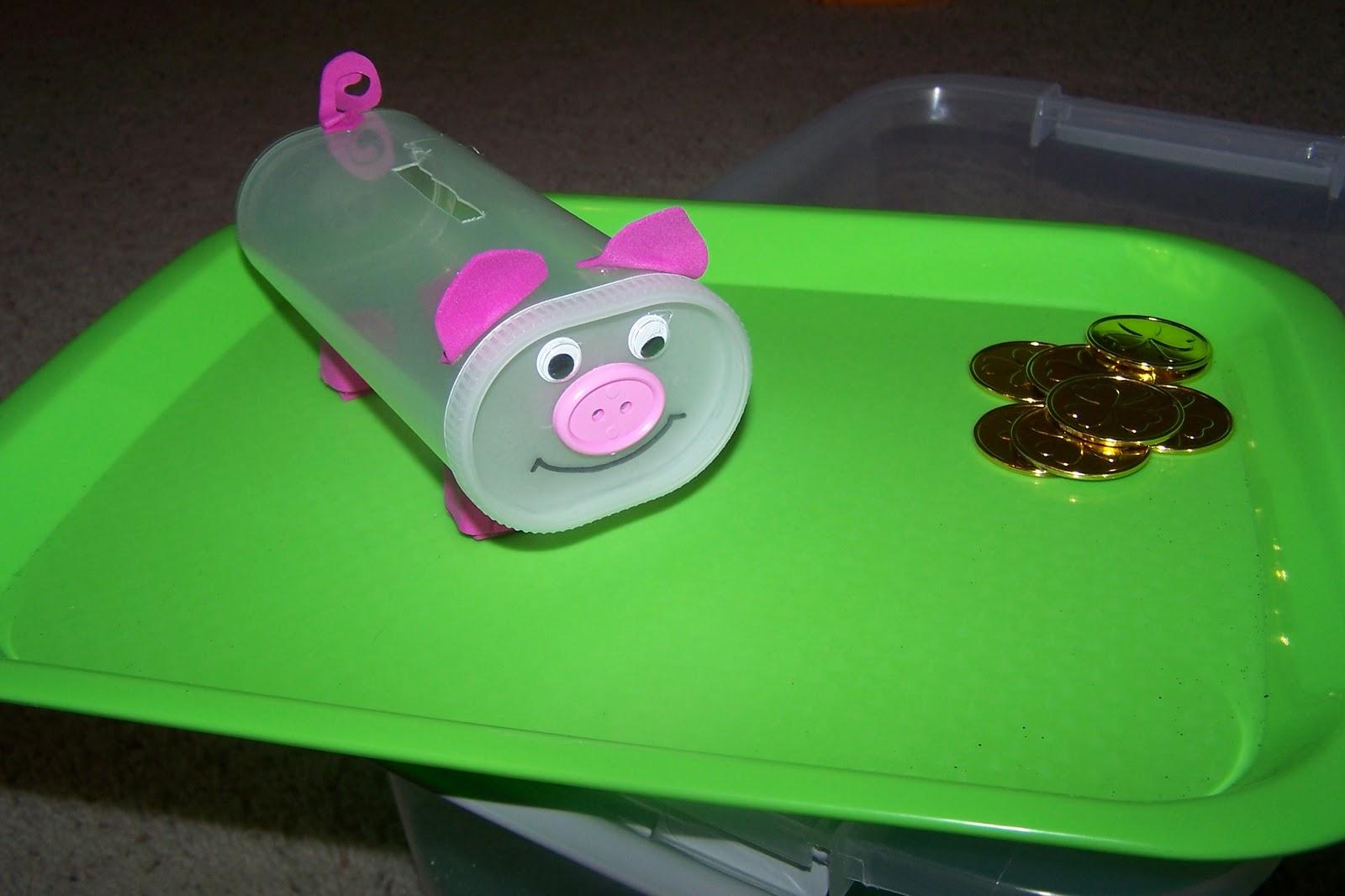 The princess and the tot homemade piggy banks for Piggy bank ideas diy