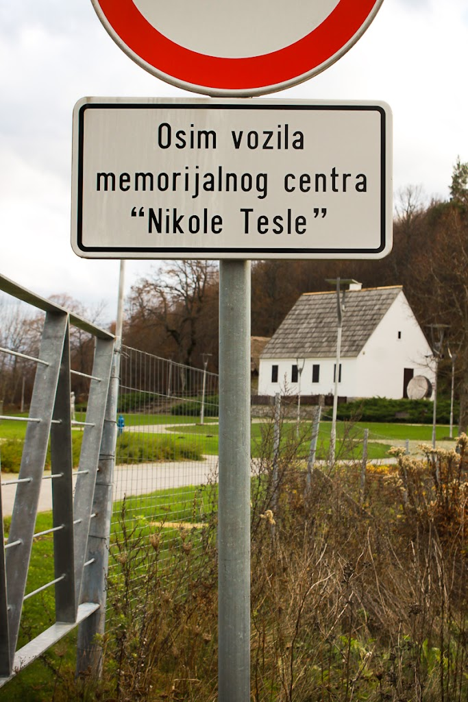 Smiljan - the place where Nikola Tesla was born.