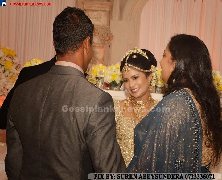 Gossip Photo Gallery: Dinesh Chandimal Wedding