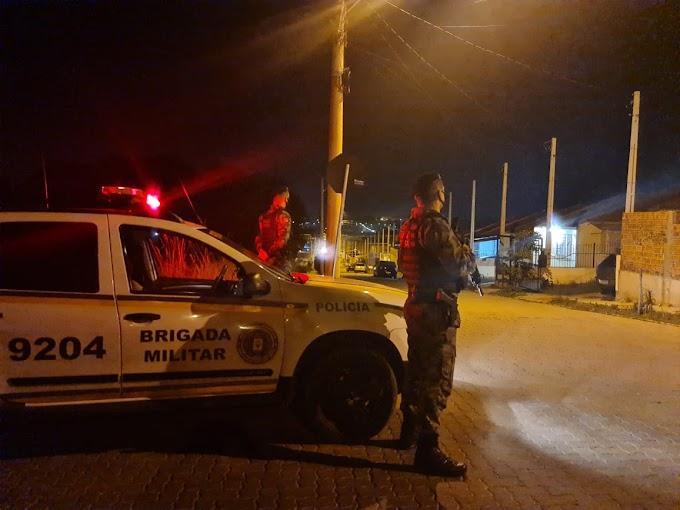 CACHOEIRINHA   Operação integrada da Brigada Militar aborda mais de 160 pessoas