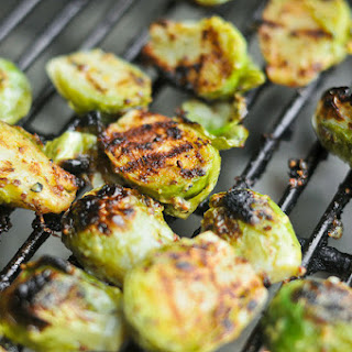 Crispy Mustard Brussels Sprouts.