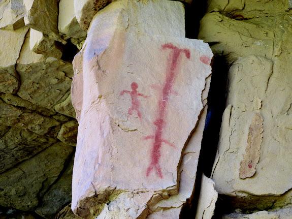 Dugout Creek pictographs