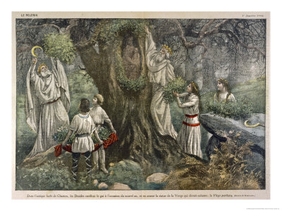 Damblans Eugene In A Forest, Celtic And Druids