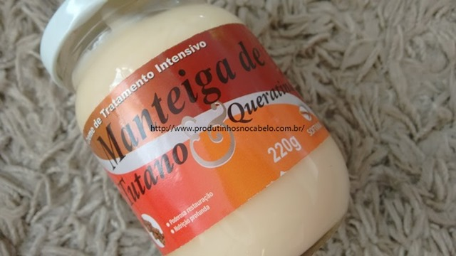 Manteiga de Tutano e queratina
