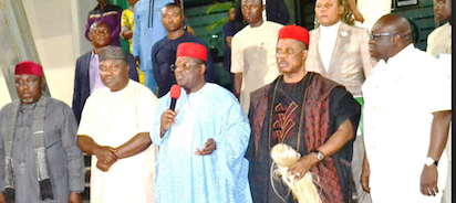 """""""We're extremely disappointed in you"""" - Anambra, Kebbi, Zamfara, other governors Cries Out after meeting with Buhari"""