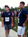 Justin and Dave before the race.