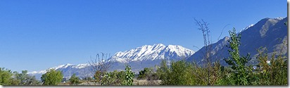 Wasatch Mountains, Utah County, I-15