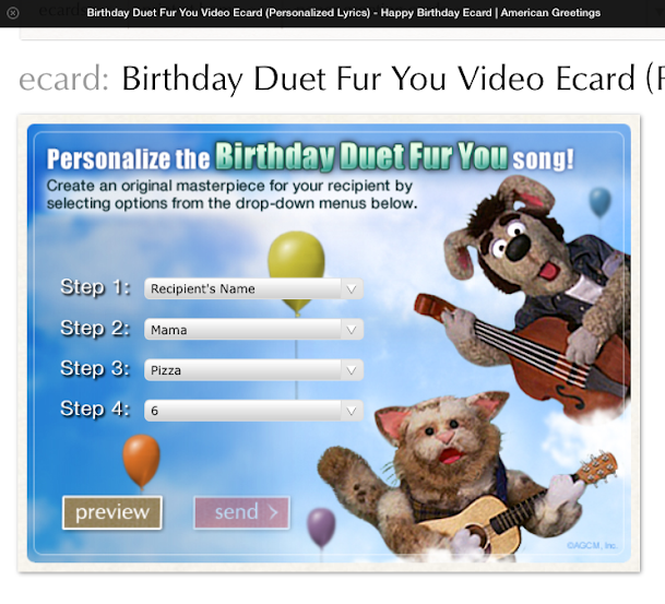 I Made A Video ECard For My Little Boy Who Is Turning 6 Next Week The Cool Part That You Can Customize To Include Specific Things Relevant