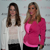 WWW.ENTSIMAGES.COM -   Rosie Fortescue and Rachel Evans    at     JustFab current  and future fashion trends event at The Millennium Hotel, 44 Grosvenor Square, London June 12th 2013                                                   Photo Mobis Photos/OIC 0203 174 1069