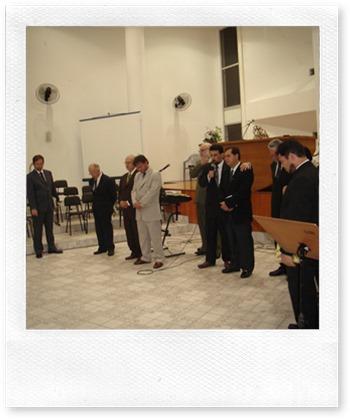 Cerimônia de posse em 2007