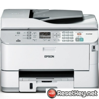 Resetting Epson PX-B750F printer Waste Ink Counter