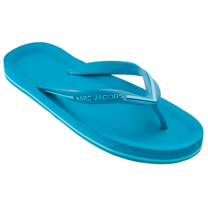 Marc by Marc Jacobs Rust/Yellow Flip Flop