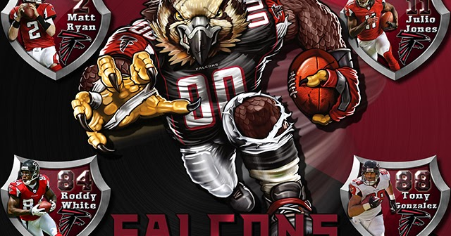 Falcons Iphone Wallpaper: Wallpapers By Wicked Shadows: Falcons Crazy Logo Shield