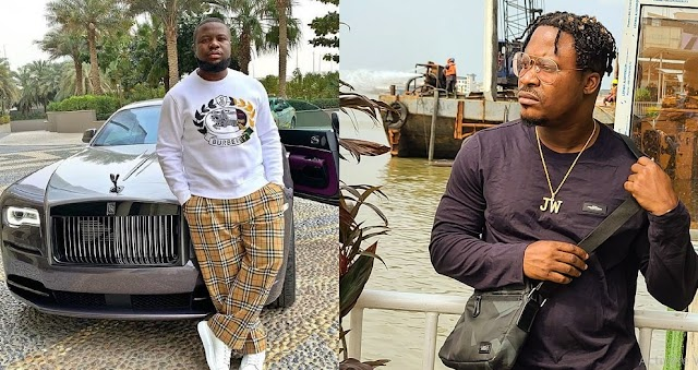 Singer, Jaywon Shows How He Really Wants To Leave Nigeria As He Urges Hushpuppi To Implicate Him
