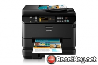 Reset Epson WorkForce WP-4540 End of Service Life Error message