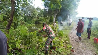 Karya Bhakti Sebagai Wujud Nyata Pengabdian TNI Kepada Rakyat