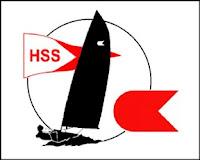 OK-jolle logo med HSS stander
