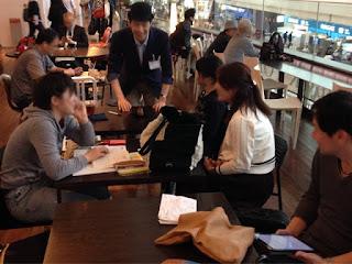 マジシャン in 東京国際空港