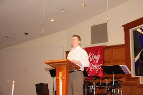 Jason Barnhart of Parkstreet Brethren Church One of our own coming back Jason was our guest speaker for the day