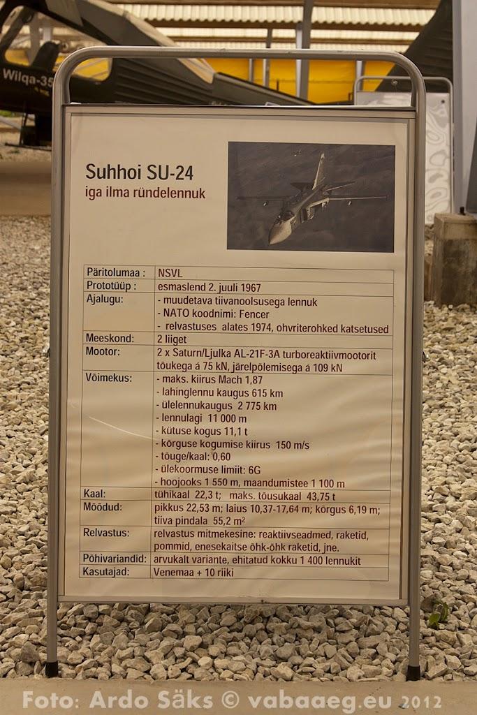 23.08.12 Eesti Lennundusmuuseumi eksponaadid 2012 - AS20120823LENNUK_071V.JPG