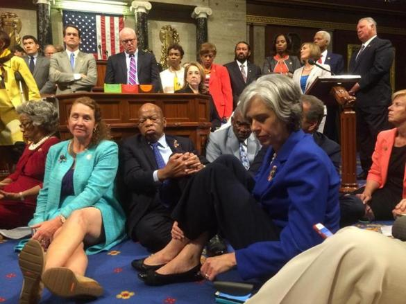 Dems sit-in for gun control but ignore guns used in most crimes are illegal