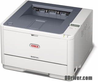 download and setup OKI B401dn inkjet printer driver