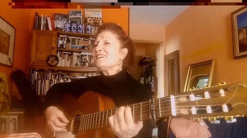 La cantautora Sensi Falán.