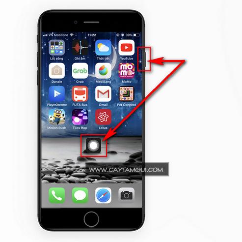 Hướng dẫn chụp ảnh màn hình iPhone