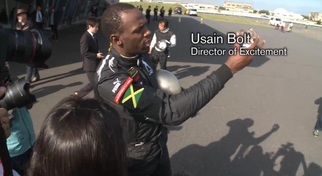 Usain Bolt for Nissan GT-R and Krispy Kreme?
